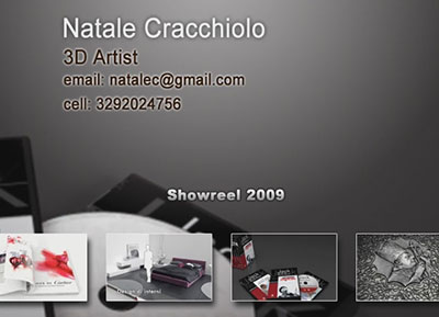 Realizzazione Video grafica 3D per Spot televisivi, Cartoon, Motion graphics, Motion design, rendering per integrazione in Architettura, Video Editing.