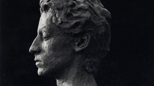 modellazione di un ritratto di profilo