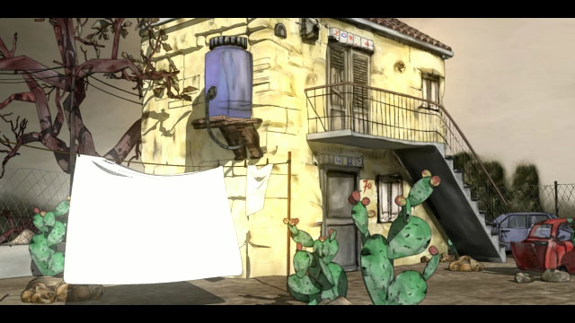 Cortometraggio cartoon in 3D Caro figlio   Palermo