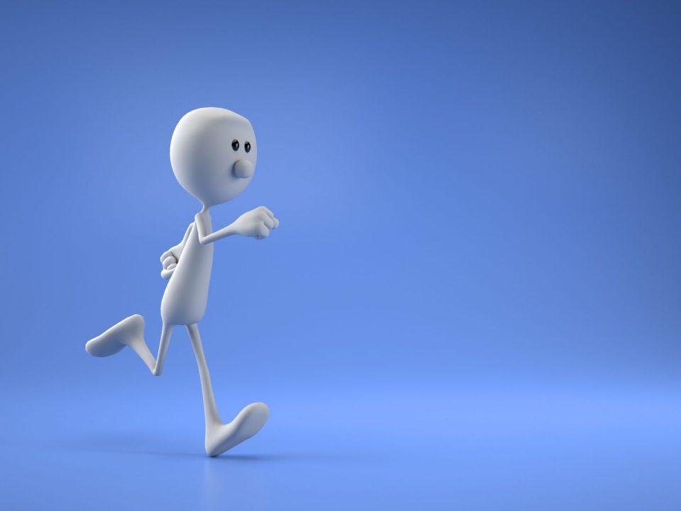 Character animations cartoon