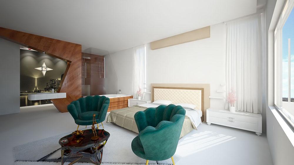 Rendering di design di interni