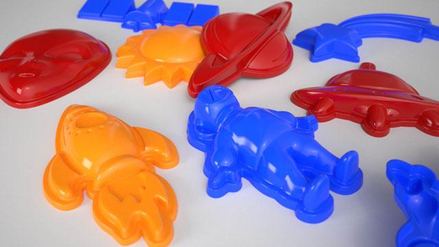 Toys Design di formine per la spiaggia