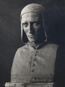 modellazione ritratto Dante