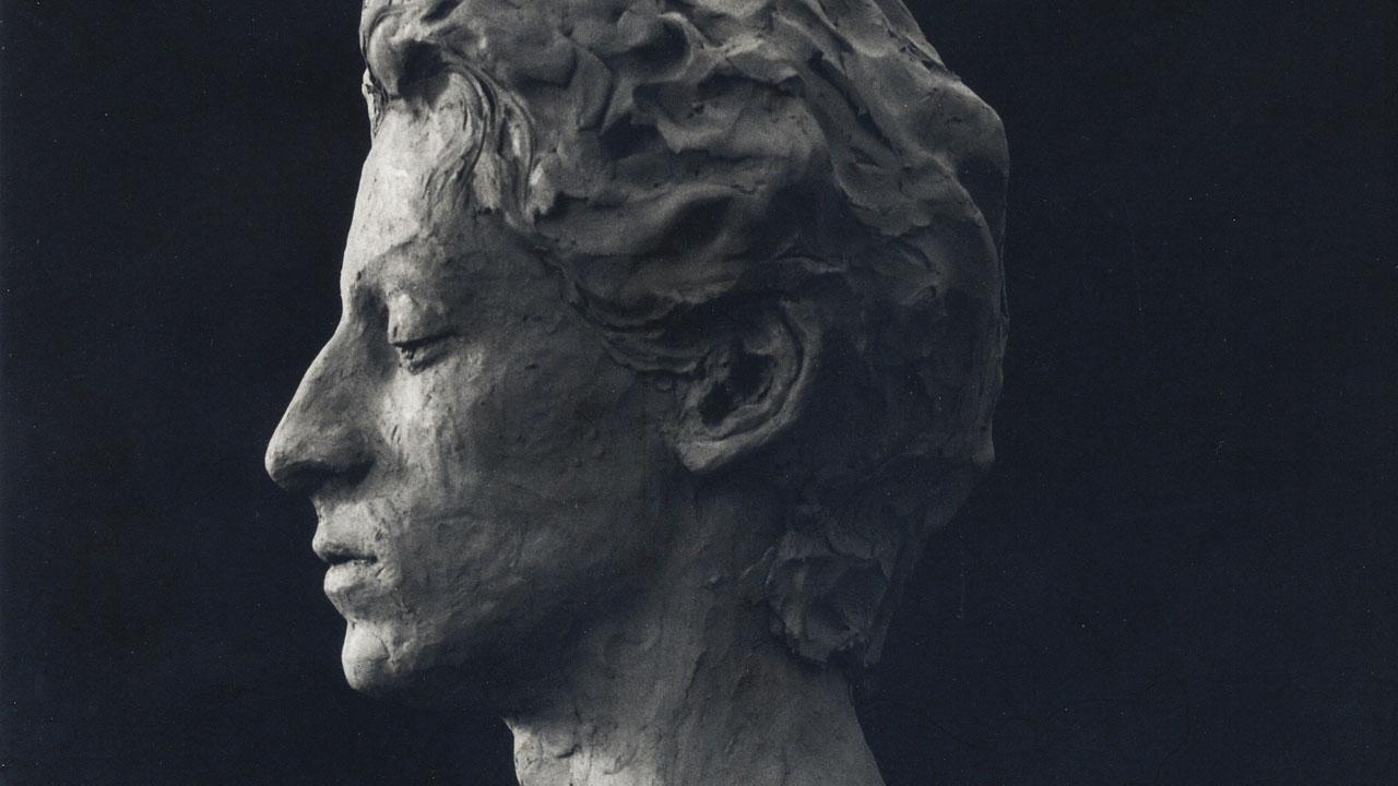 modellazione ritratto profilo