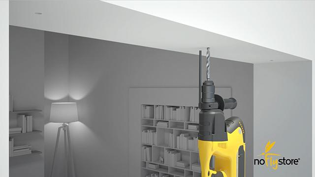 Video 3D sul montaggio di una zanzariera