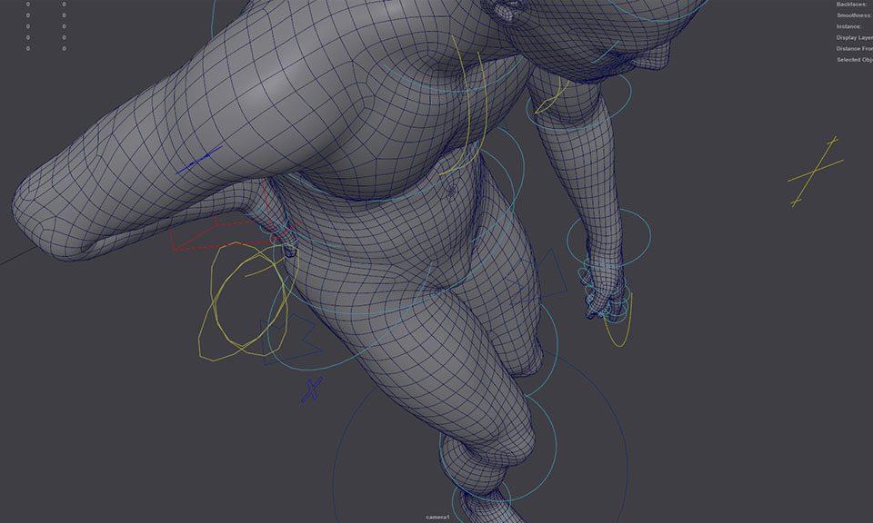 Realizzazione di un animazione 3D