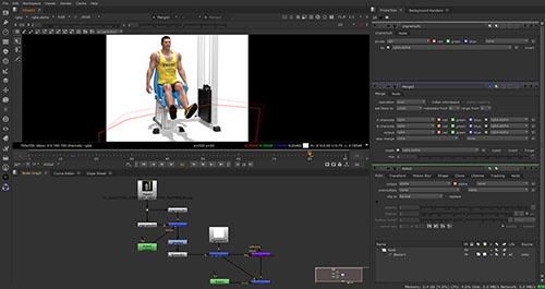 compositing di immagini per una animazione 3D